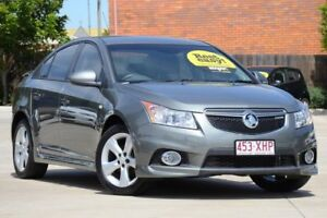2012 Holden Cruze JH Series II MY13 SRi Grey 6 Speed Sports Automatic Sedan Toowoomba Toowoomba City Preview