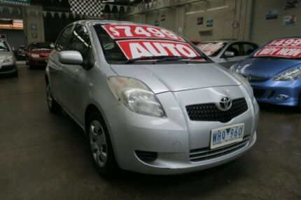 2008 Toyota Yaris NCP91R YRS 4 Speed Automatic Hatchback Mordialloc Kingston Area Preview