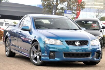 2012 Holden Commodore VE II MY12 SV6 Thunder Chlorophyll 6 Speed Automatic Utility Rosebery Inner Sydney Preview