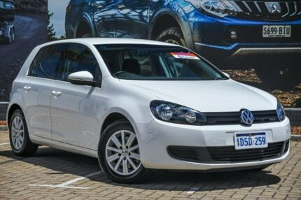 2011 Volkswagen Golf VI MY12 90TSI DSG Trendline White 7 Speed Sports Automatic Dual Clutch Morley Bayswater Area Preview