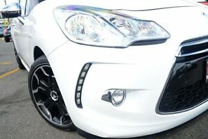 2011 Citroen DS3 MY12 Dsport White 6 Speed Manual Hatchback