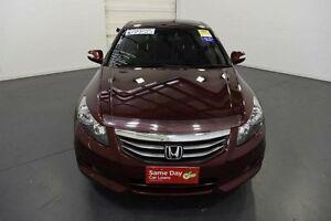 2012 Honda Accord 50 MY11 V6-L Burgundy 5 Speed Automatic Sedan Moorabbin Kingston Area Preview