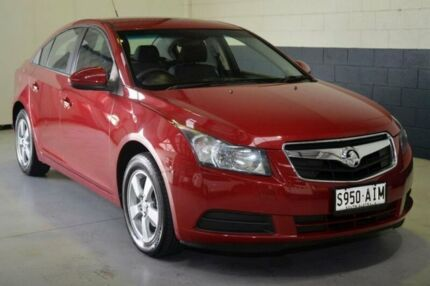2010 Holden Cruze JG CD Red 6 Speed Sports Automatic Sedan Hillcrest Port Adelaide Area Preview