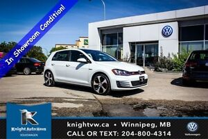 2015 Volkswagen Golf GTI Autobahn w/ Leather/Nav/Backup Cam/Sunr
