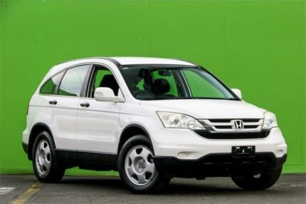 2010 Honda CR-V RE MY2010 4WD White 6 Speed Manual Wagon Ringwood East Maroondah Area Preview