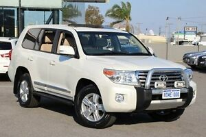 2014 Toyota Landcruiser White Sports Automatic Wagon St James Victoria Park Area Preview