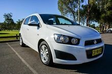2012 Holden Barina TM White 6 Speed Automatic Hatchback Wetherill Park Fairfield Area Preview
