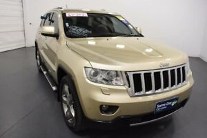 2011 Jeep Grand Cherokee WK Limited (4x4) Gold 5 Speed Automatic Wagon