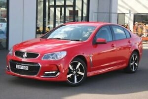 2017 Holden Commodore VF II MY17 SV6 Red 6 Speed Sports Automatic Sedan Goulburn Goulburn City Preview