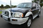 2003 Nissan Navara D22 STR Black Manual Dual Cab West Footscray Maribyrnong Area Preview