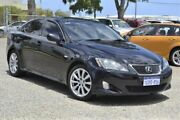 2006 Lexus IS250 GSE20R Sports Luxury Black 6 Speed Sports Automatic Sedan Wangara Wanneroo Area Preview