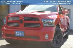 2016 Ram 1500 Sport-HEMI 5.7L+ACCIDENT FREE+FACTORY WARRANTY+HEA