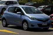 2012 Toyota Yaris NCP131R YRS Blue 4 Speed Automatic Hatchback Ringwood East Maroondah Area Preview