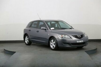2008 Mazda 3 BK MY06 Upgrade Neo Grey 4 Speed Auto Activematic Hatchback