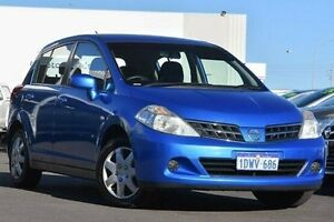 2011 Nissan Tiida C11 Series 3 MY10 ST Clean Blue 4 Speed Automatic Sedan Glendalough Stirling Area Preview