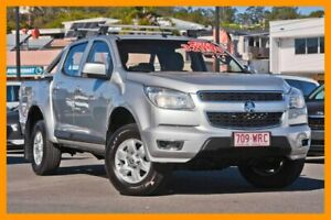 2016 Holden Colorado RG MY16 LS-X Crew Cab Silver 6 Speed Sports Automatic Utility Mount Gravatt Brisbane South East Preview
