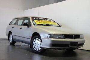 1997 Mitsubishi Magna TF Executive Gold 4 Speed Automatic Wagon Underwood Logan Area Preview