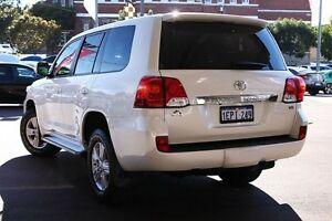 2014 Toyota Landcruiser VDJ200R MY13 Altitude White 6 Speed Sports Automatic Wagon Northbridge Perth City Area Preview