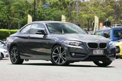 2014 BMW 220d F22 Sport Line Grey 8 Speed Sports Automatic Coupe Indooroopilly Brisbane South West Preview
