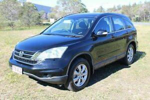 2011 Honda CR-V RE MY2010 Sport 4WD Black 6 Speed Manual Wagon Ormeau Gold Coast North Preview