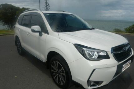 2016 Subaru Forester S4 MY16 XT CVT AWD Premium White 8 Speed Constant Variable Wagon South Gladstone Gladstone City Preview