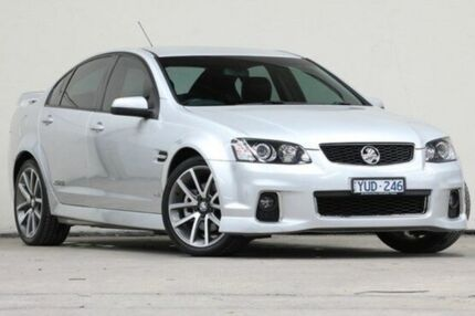 2012 Holden Commodore VE II MY12 SS V Silver 6 Speed Auto Seq Sportshift Sedan Vermont Whitehorse Area Preview