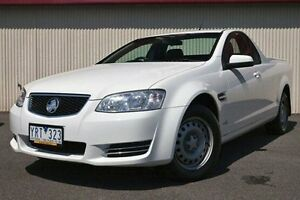 2011 Holden Ute White Sports Automatic Utility Dandenong Greater Dandenong Preview