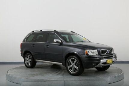 2010 Volvo XC90 P28 MY10 V8 Geartronic R-Design Grey 6 Speed Sports Automatic Wagon