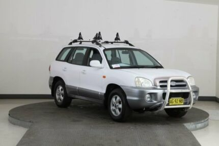 2005 Hyundai Santa Fe 05 Update (4x4) White 4 Speed Automatic Wagon Smithfield Parramatta Area Preview