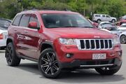 2012 Jeep Grand Cherokee WK MY2012 Overland Burgundy 5 Speed Sports Automatic Wagon Indooroopilly Brisbane South West Preview