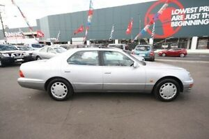 1995 Lexus LS400 UCF20R Silver 4 Speed Automatic Sedan Kingsville Maribyrnong Area Preview