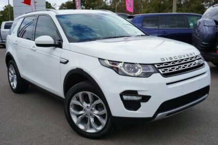 2015 Land Rover Discovery Sport L550 16MY SD4 HSE White 9 Speed Sports Automatic Wagon Phillip Woden Valley Preview
