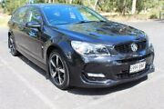 2016 Holden Commodore VF II MY16 SV6 Sportwagon Black Black 6 Speed Sports Automatic Wagon Thebarton West Torrens Area Preview