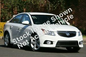 2011 Holden Cruze JH Series II MY11 SRi-V White 6 Speed Manual Sedan East Toowoomba Toowoomba City Preview