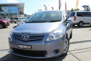 2012 Toyota Corolla ZRE152R MY11 Ascent Silver Blue 4 Speed Automatic Hatchback Hamilton East Newcastle Area Preview