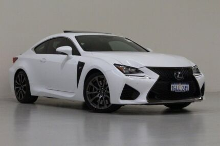 2014 Lexus RC F VSC10R White 8 Speed Automatic Coupe