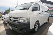 2013 Toyota Hiace TRH223R MY12 Commuter High Roof Super LWB White 4 Speed Automatic Bus Mill Park Whittlesea Area Preview