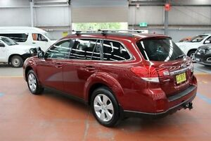 2010 Subaru Outback B5A MY10 2.5i Lineartronic AWD Red 6 Speed Constant Variable Wagon Maryville Newcastle Area Preview