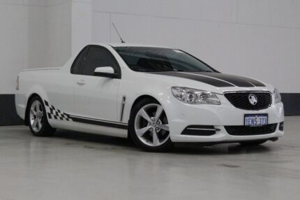2014 Holden Ute VF White 6 Speed Automatic Utility
