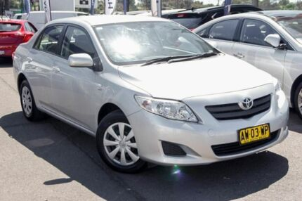 2008 Toyota Corolla ZRE152R Ascent Silver 6 Speed Manual Sedan
