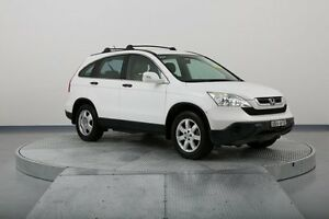 2007 Honda CR-V RE MY2007 4WD White 6 Speed Manual Wagon Old Guildford Fairfield Area Preview
