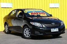 2009 Toyota Corolla ZRE152R Ascent Black 4 Speed Automatic Sedan Ferntree Gully Knox Area Preview