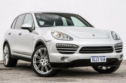 2012 Porsche Cayenne 92A MY12 Diesel Tiptronic Silver 8 Speed Sports Automatic Wagon Bellevue Swan Area Preview