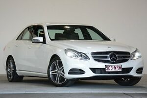 2015 Mercedes-Benz E200 212 MY15 White 7 Speed Automatic Sedan Coopers Plains Brisbane South West Preview