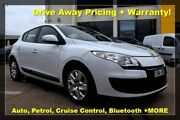 2013 Renault Megane III B95 MY13 Expression White 6 Speed Constant Variable Hatchback Hoppers Crossing Wyndham Area Preview