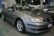 2007 Saab 9-3 MY07 Vector Grey 5 Speed Auto Sensonic Convertible Victoria Park Victoria Park Area Preview
