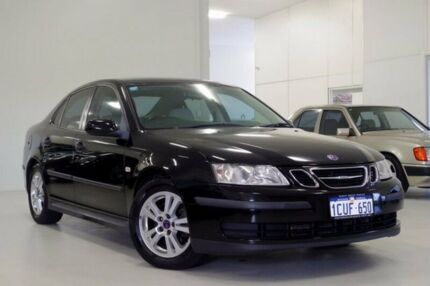 2007 Saab 9-3 440 MY2007 Linear Black 5 Speed Sports Automatic Sedan Myaree Melville Area Preview