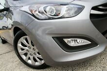 2014 Hyundai i30 GD MY14 Active Silver 6 Speed Automatic Hatchback Arncliffe Rockdale Area Preview