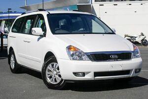 2014 Kia Grand Carnival VQ MY14 SI White 6 Speed Sports Automatic Wagon Mount Gravatt Brisbane South East Preview