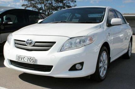 2008 Toyota Corolla ZRE152R Conquest White 4 Speed Automatic Sedan Cardiff Lake Macquarie Area Preview